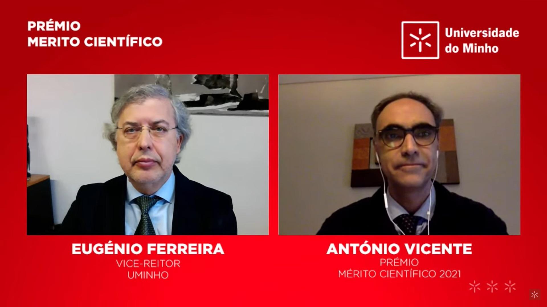 Prémio de Mérito Científico - António Vicente
