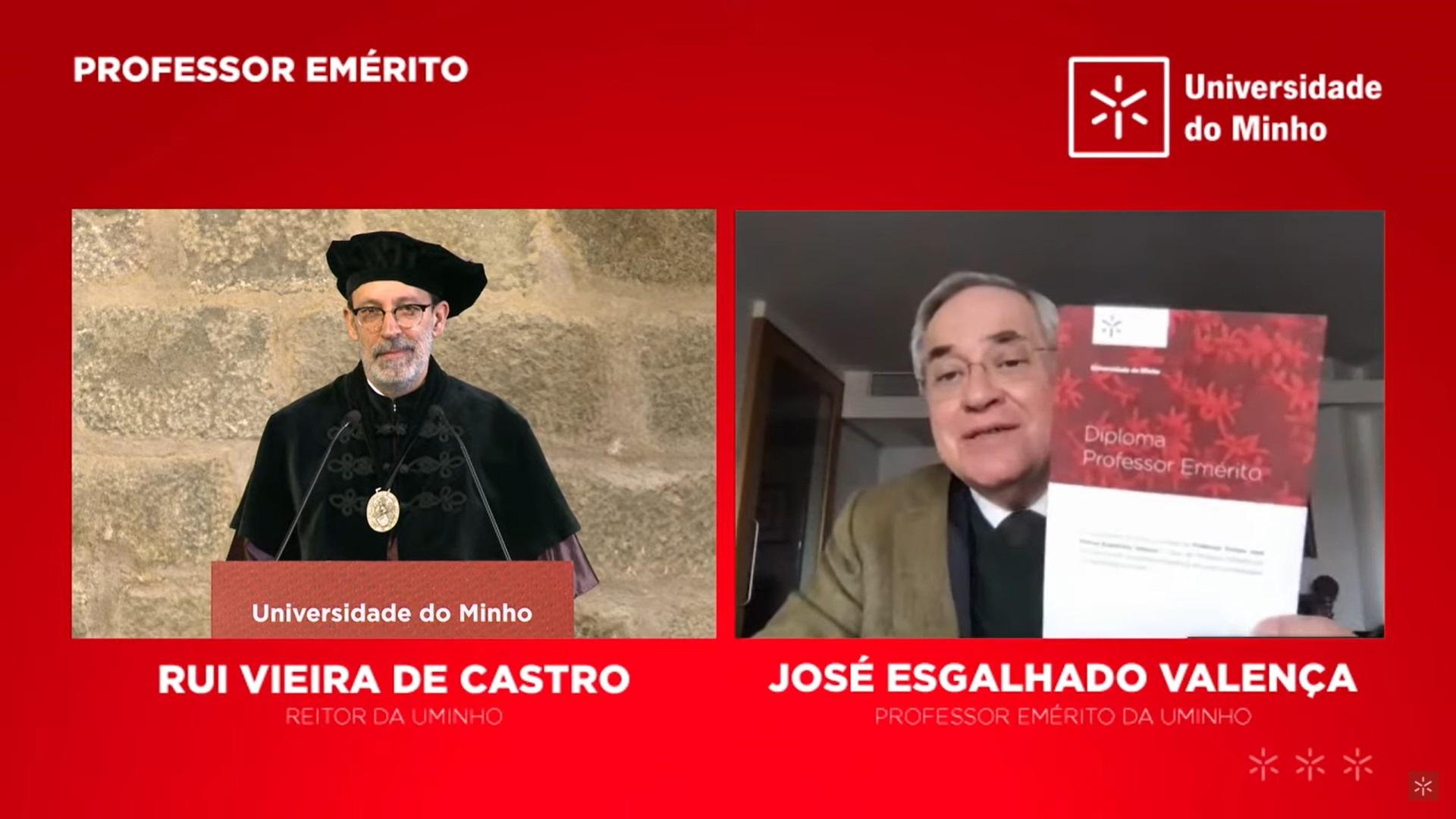 Professor Emérito - José Valença