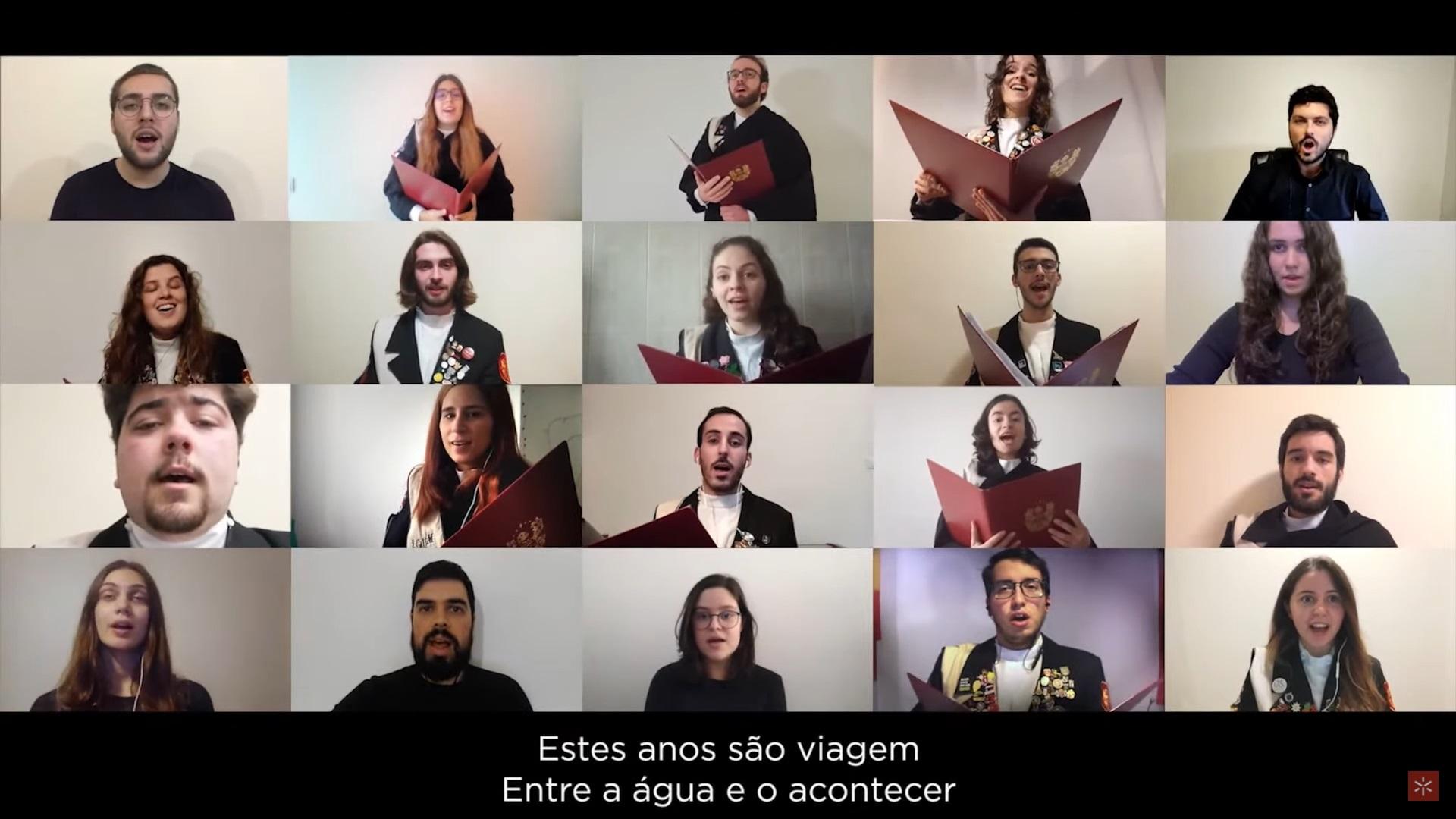 Coro Académico da UMinho - Hino da UMinho