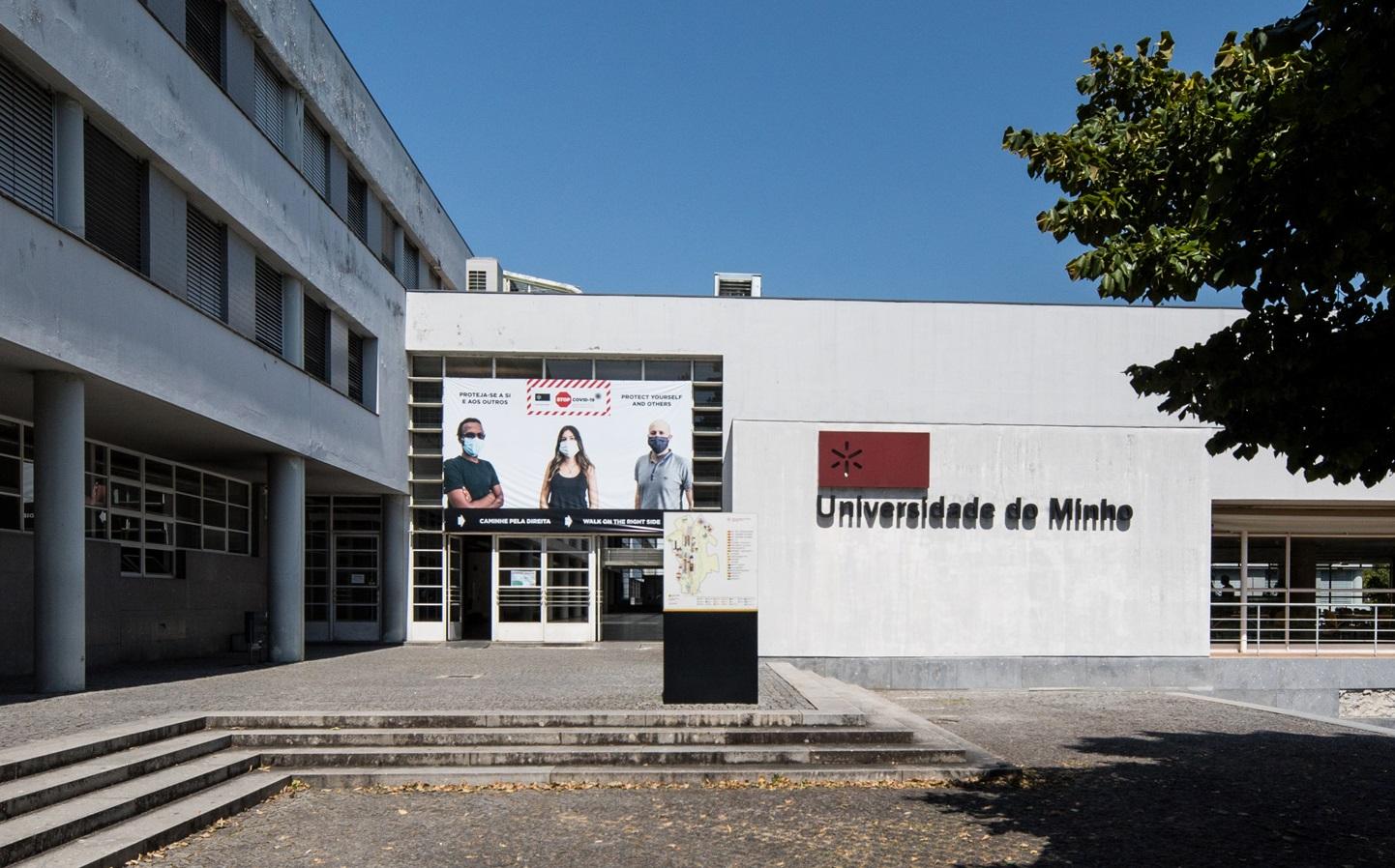 Escola de Engenharia da UMinho - campus de Azurém, Guimarães