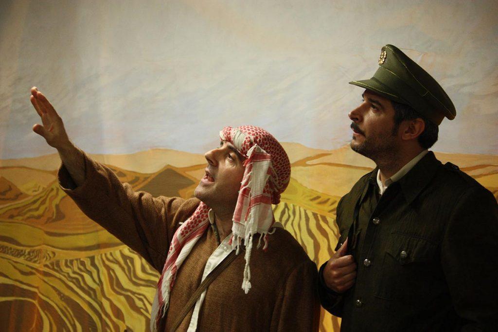 A Fronteira, pela companhia teatral Furabolos
