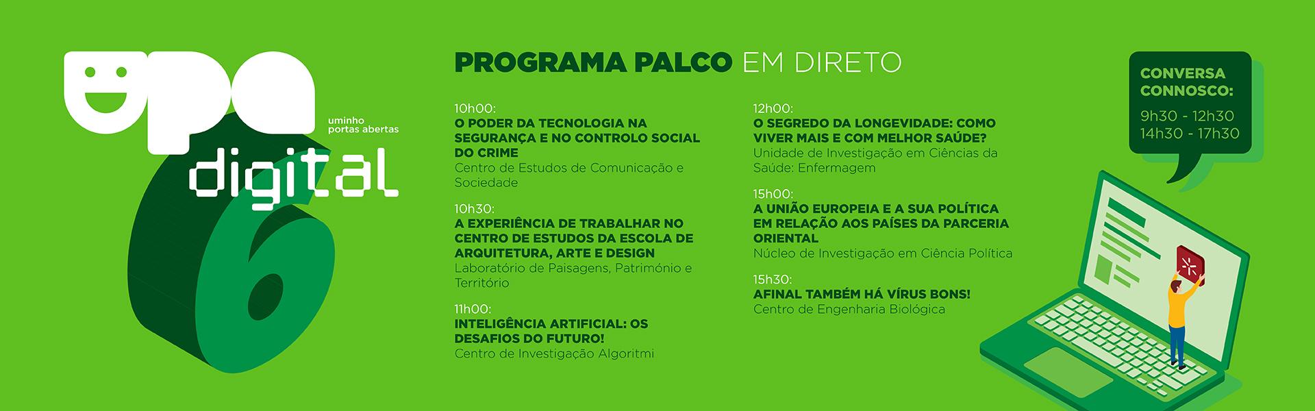 Programa - 6 de maio