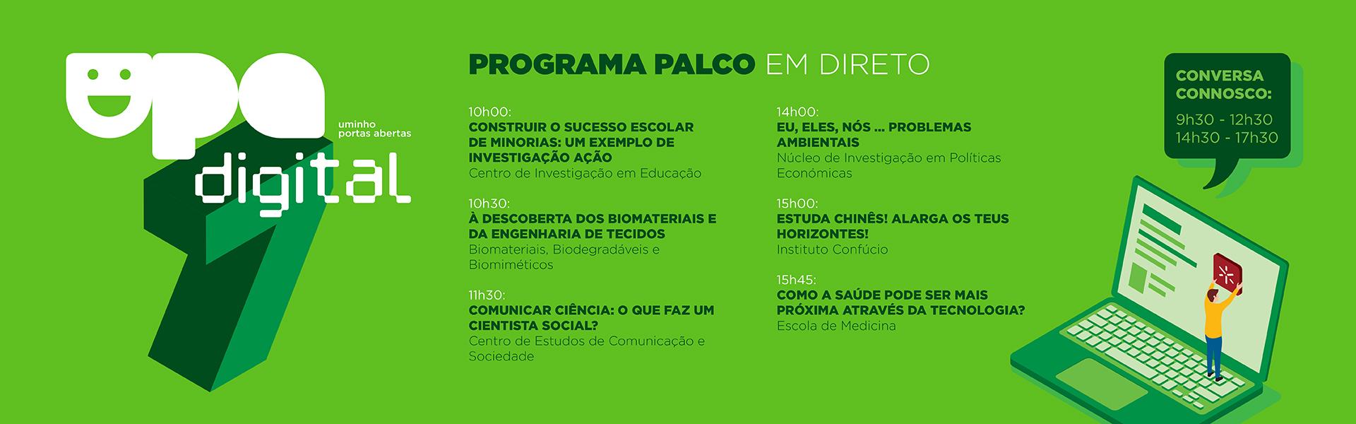 Programa - 7 de maio