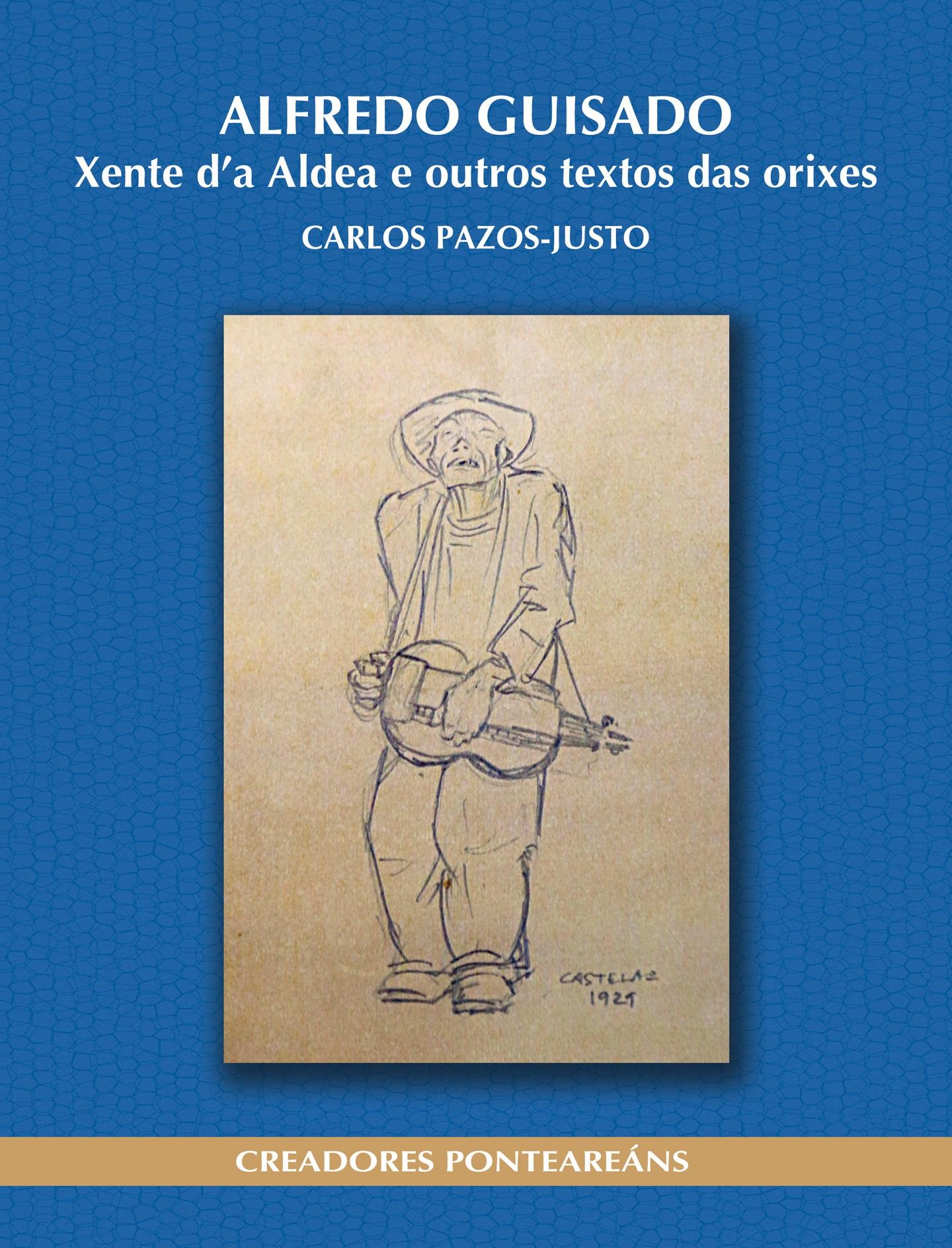 Capa do livro de Carlos Pazos-Justo