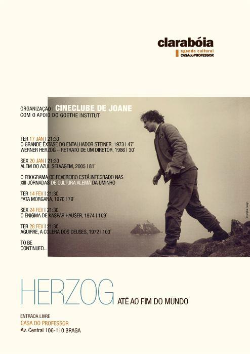 Ciclo 'Herzog - Até ao fim do mundo' na Casa do Professor