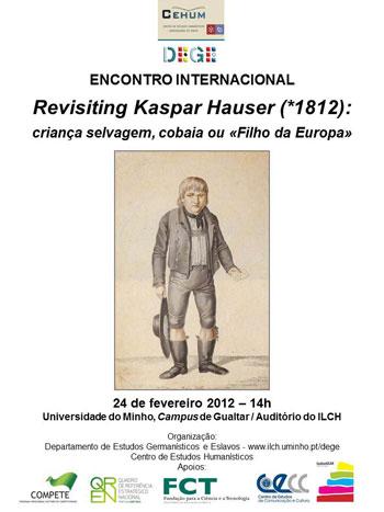 Cartaz da conferência sobre Kaspar Hauser