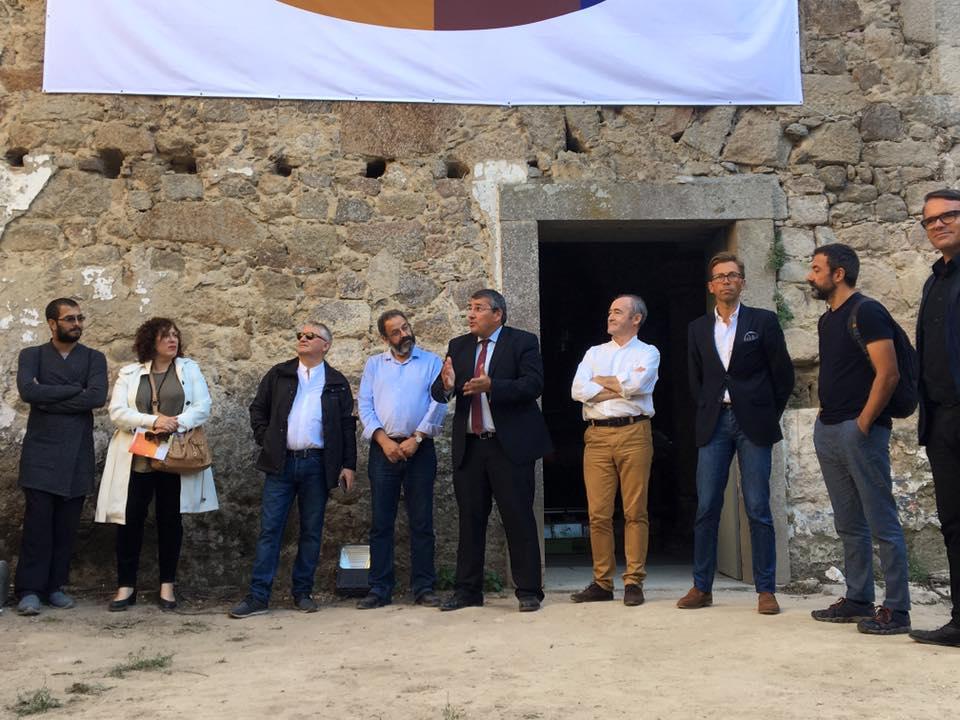 Apresentação oficial no Convento de S. Francisco de Real, com o reitor da UMinho