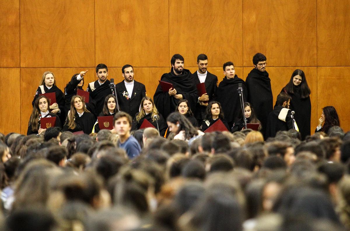 Coro Académico da UMinho (foto de Nuno Gonçalves/UMdicas)