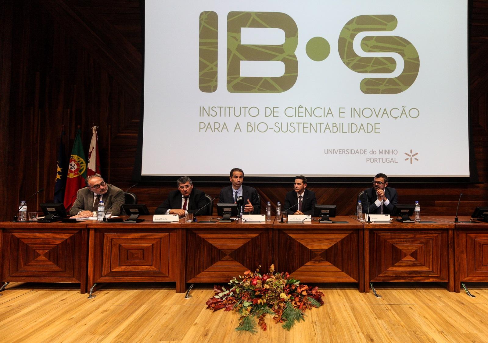 Cerimónia de inauguração (foto de Nuno Gonçalves/UMdicas)