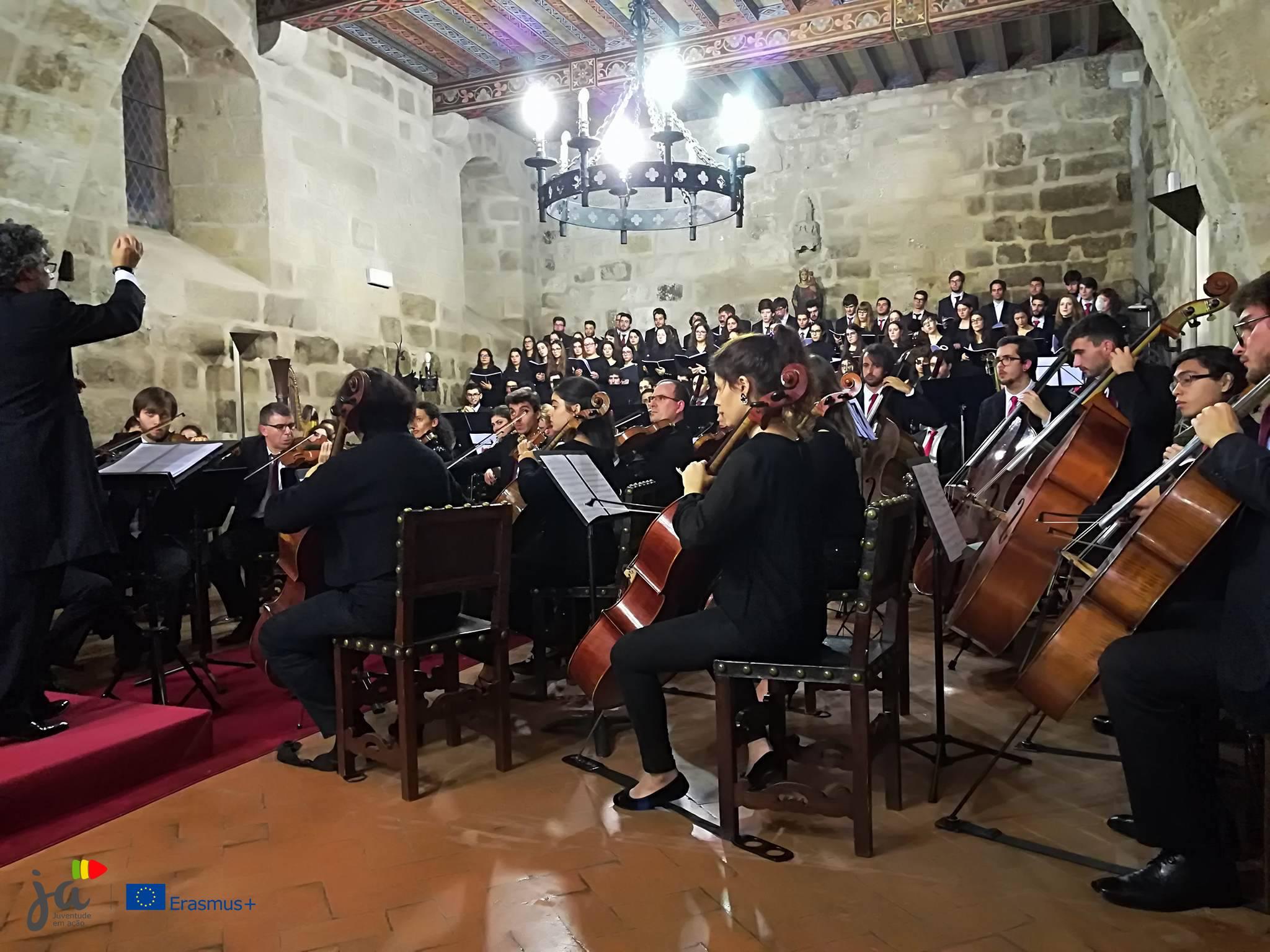 Concerto comemorativo (Foto Erasmus+ Juventude em Ação)