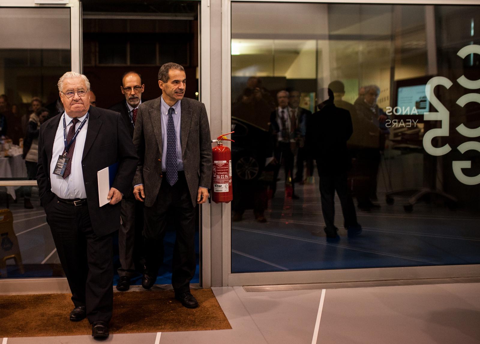Chegada ao CCG (foto: Nuno Gonçalves)