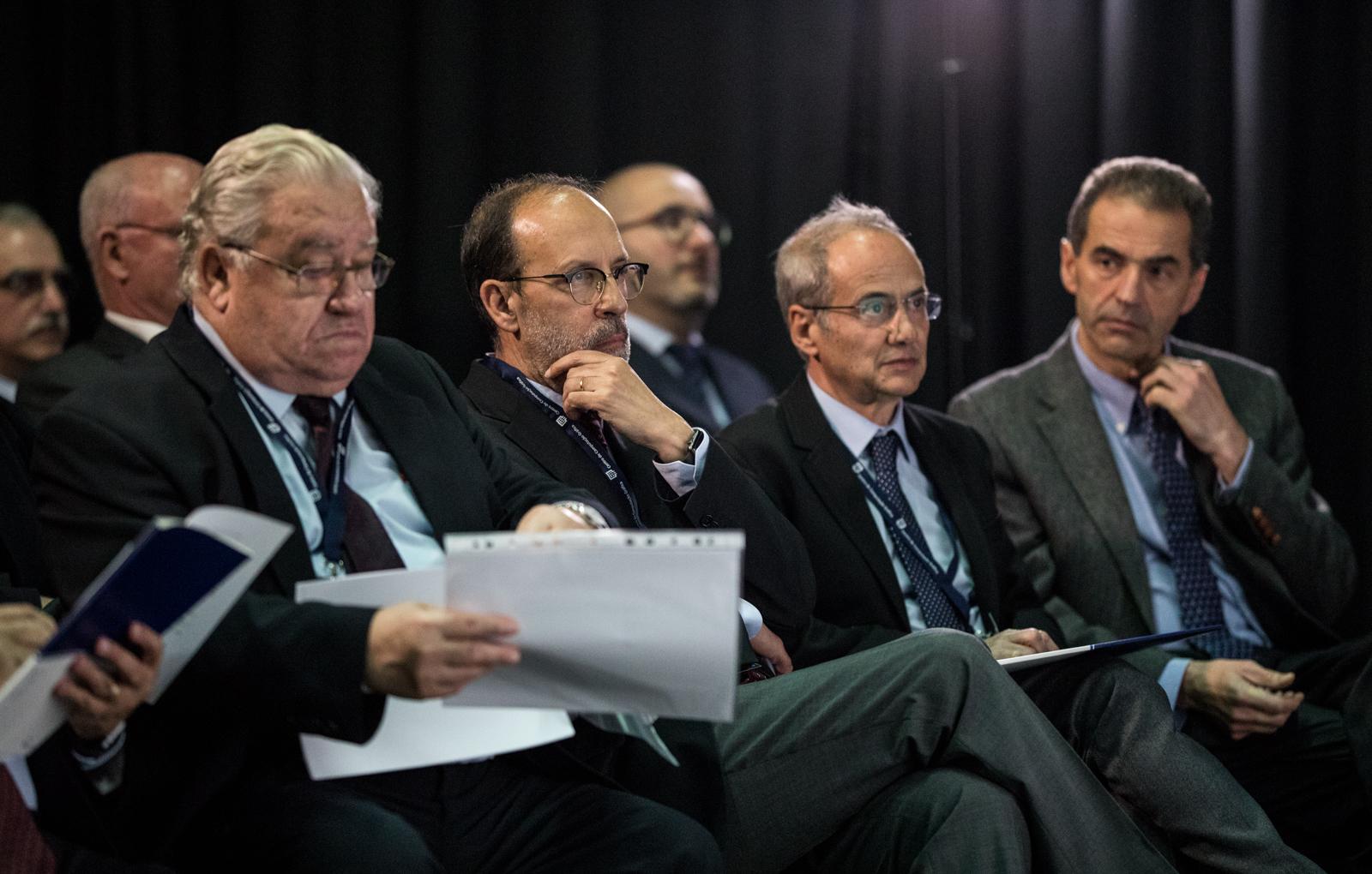 Primeira fila do auditório (foto: Nuno Gonçalves)