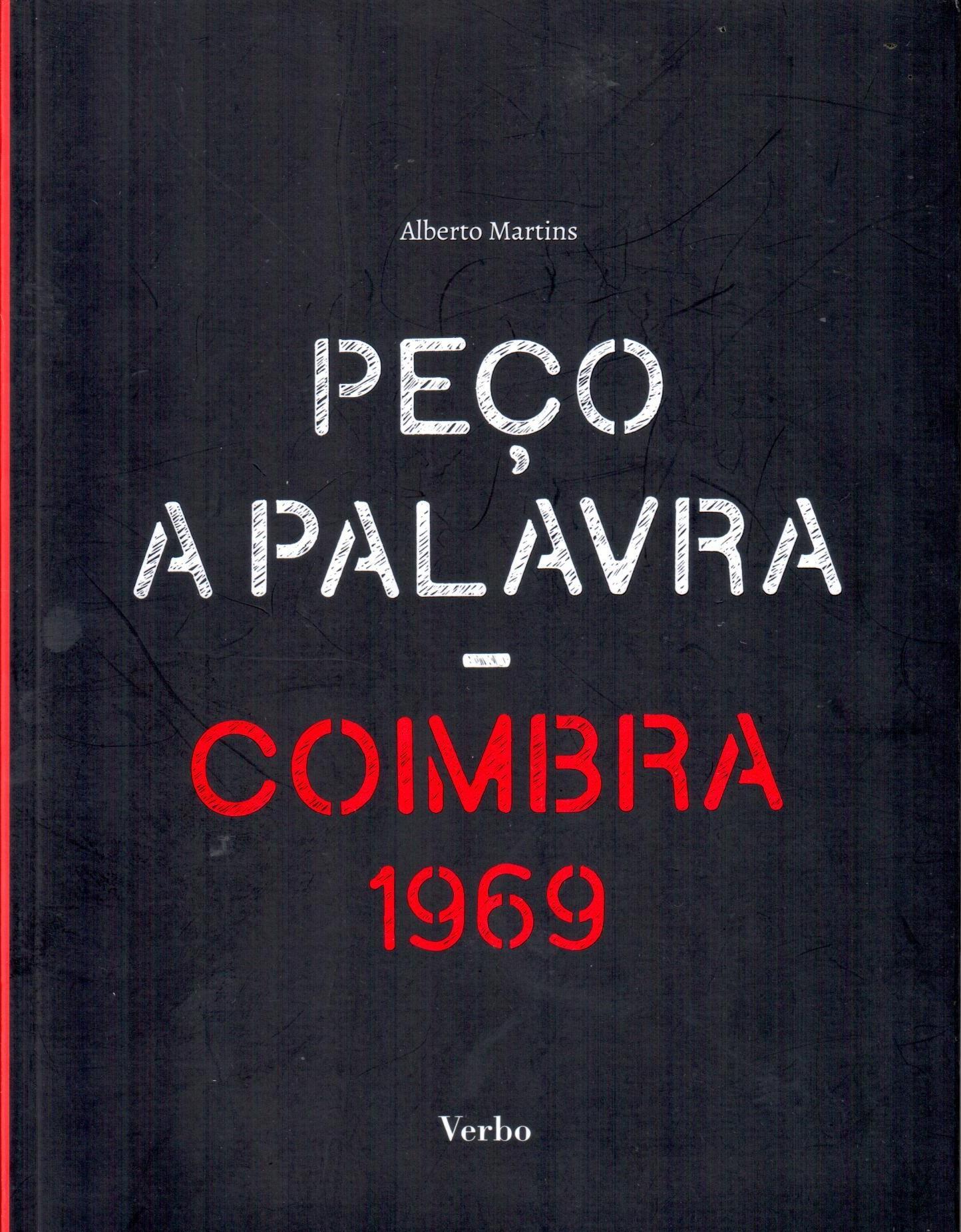 Capa do livro Peço a Palavra, de Alberto Martins