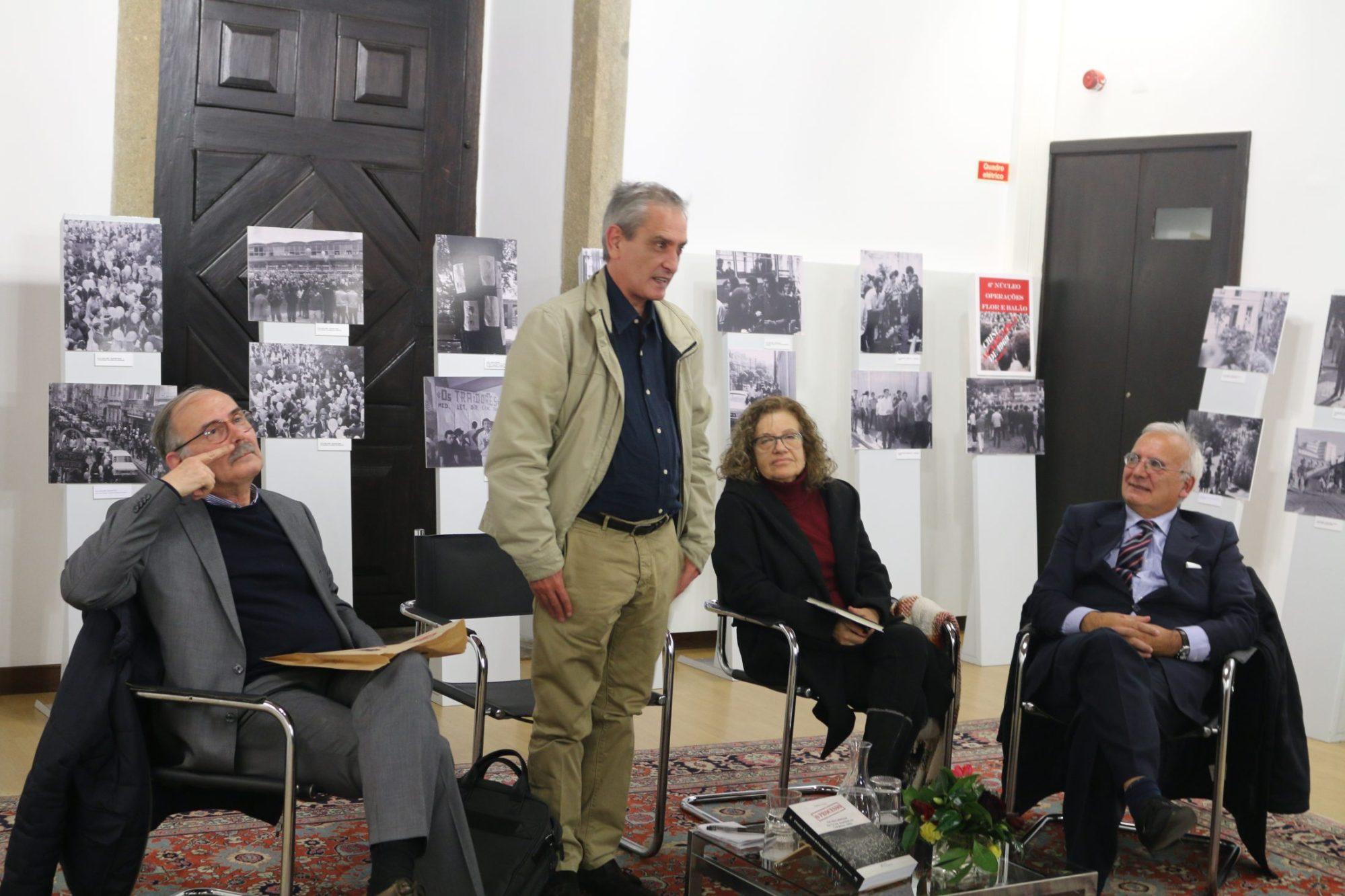 Apresentação do livro de  Gualberto Freitas (foto: Francisco de Assis/Diário do Minho)