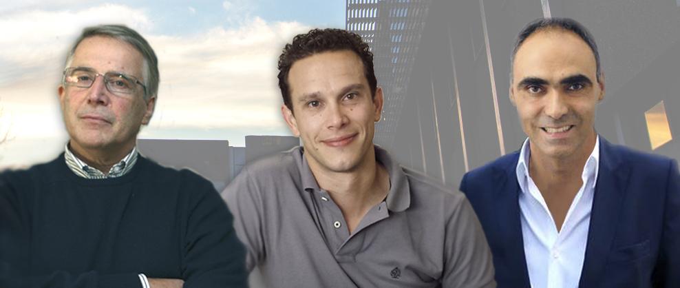 José António Teixeira, Miguel Ângelo Cerqueira e António Vicente
