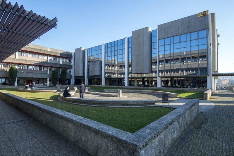 Biblioteca Geral da UMinho, no campus de Gualtar