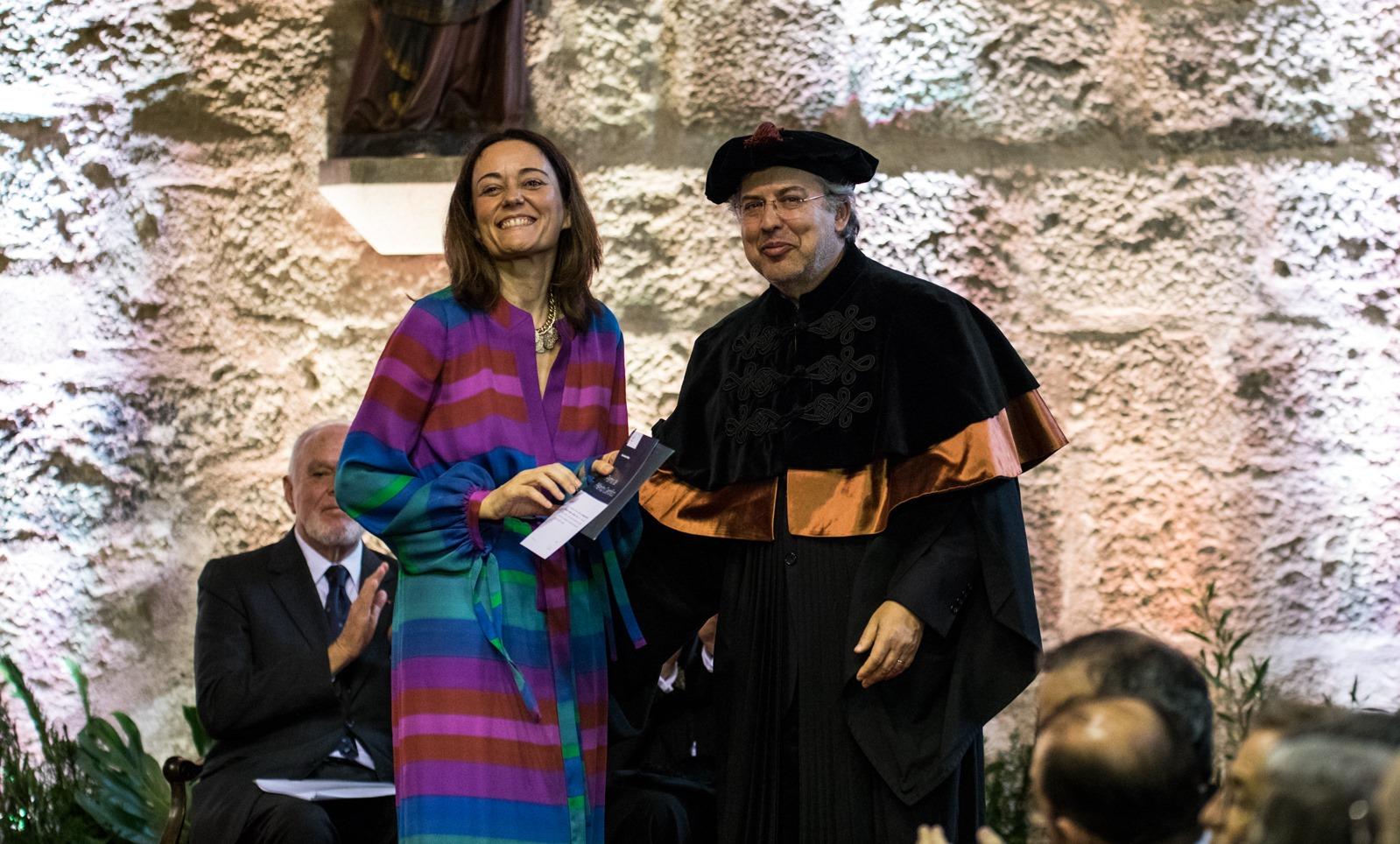 Prémio de Mérito Científico para Patrícia Jerónimo (foto: Nuno Gonçalves)