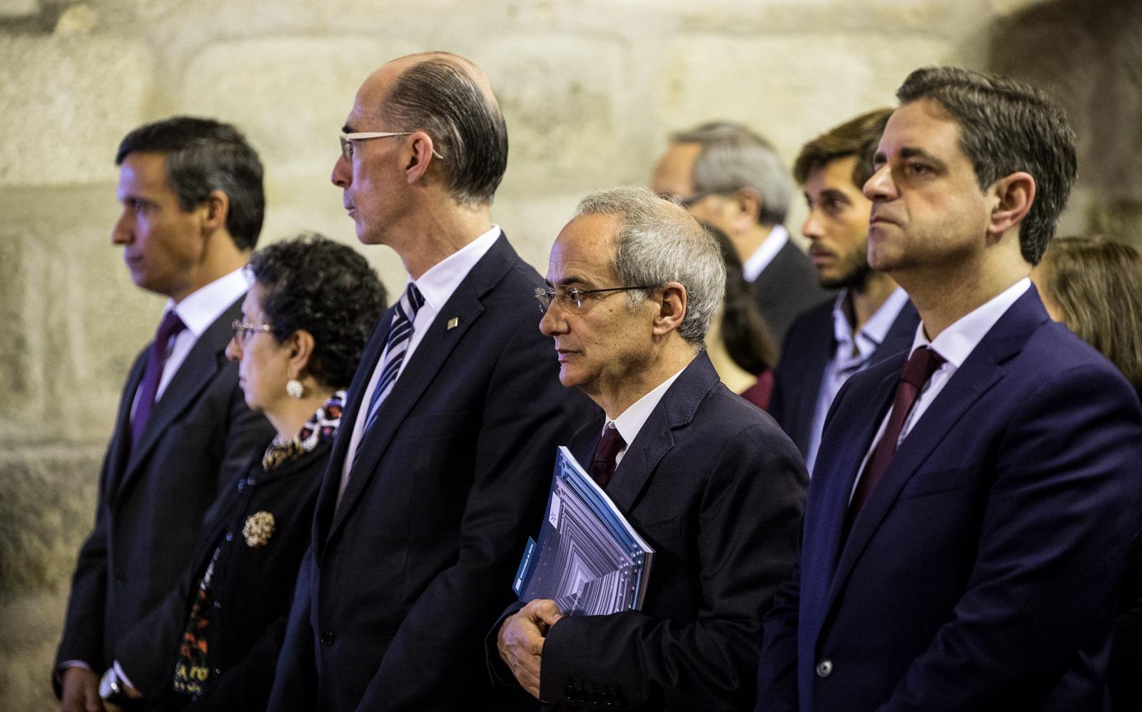 Autarcas de Guimarães, Braga e Famalicão entre a plateia (foto: Nuno Gonçalves)