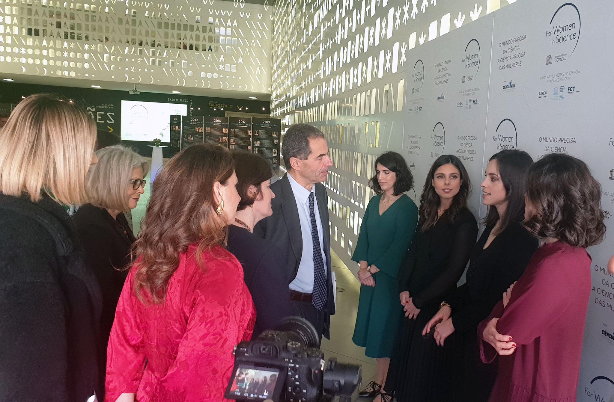 As premiadas à conversa com o ministro Manuel Heitor