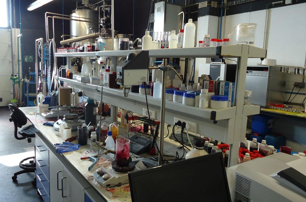 Ecofoot - laboratórios